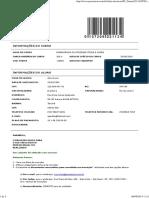 Ficha de Inscrição - Pós-Graduação Estácio