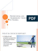 Nigeria Charismatic Pentecostal History