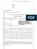 Melendres #1784 Maricopa Response to P Supp Motion Re Compensation