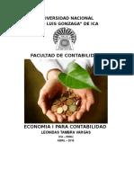 Economia I Contabilidad AULA B