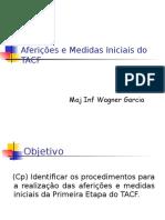 TACF - Medidas Iniciais