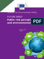 Public Risk Perception Environmental Policy FB8 En