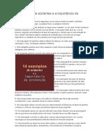 14 Exemplos de Acidentes e a Importância Da Prevenção