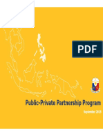 PPP Projects_Public-Private Partnership Center September 2015