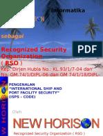 Presentasi ISPS Code 2011