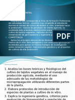Biotecnologia Agricola Semestre Academico 2016-I