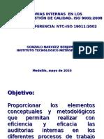 Auditorias Internas NTC-IsO 19011 de 2002