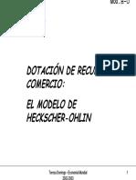 Modelo H-O de comercio internacional