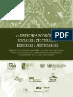 Libro - DeSC Exigibles y Justiciables