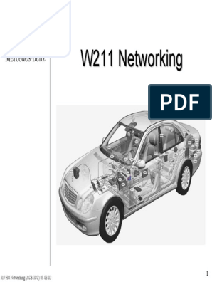 Networking Mercedes Classe E W211   Compact Disc   Microphone