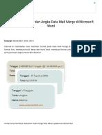 Cara Format Teks Dan Angka Data Mail Merge Di Microsoft Word _ Computer 1001