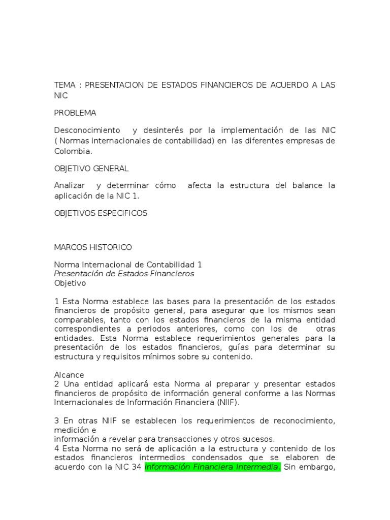 Trabajo De Investigacion Proyecto De Invg International