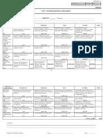 FYP1 Interim Report Scoresheet
