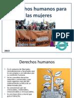 Derechos Humanos de Las Mujeres Lección