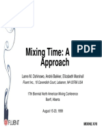 Calculate Mixing Time With CFD Approach