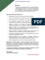Sindicato Fundacion Mano Amiga - Practicas Anti Sindicales 1