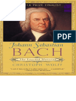 Bach the Learned Musician