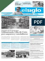 Edicion Impresa El Siglo 10-08-2016