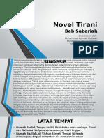 Novel Tirani (Complete)