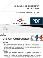 Proyecto Curso de Economía Industrial Partes Bicicletas