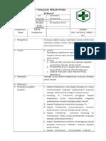 SOP Evaluasi Peran Pihak Terkait