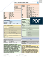PMP Formulas Pocket Guide