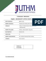 Manual Microsoft Excel 2007 Nurul Najiha Binti Salikin (Db140130)