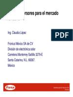 02 Ing. Claudia Lopez FRONIUS