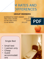 Room Rate and Differences