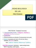 Función Proteinas 2011-2