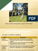 1.5 Scientific Investigation