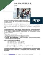 7 Prinsip Manajemen Mutu ISO 9001 2015 Versi Lengkap - Iso Org