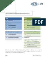 DQS CFS Structure ISO 9001 2008 vs 2015 v2