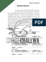 Plan de Negocios Kori Challwa