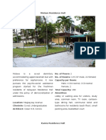 University of the Philippines Dormitory (Building Program Analysis)