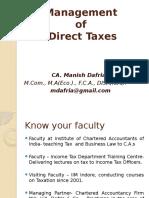 1. 2 Scheme of Tax Calculation