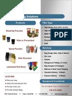 Barrier Properties Packaging