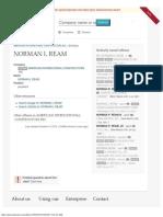 NORMAN L REAM (president) _ OpenCorporates.pdf