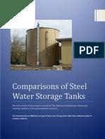 Comparisons of Steel Water Storage Tanks (Tim Guishard Enterprises)