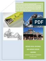 Structure Integrity Report Asgnmnt - roller coster