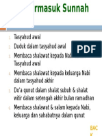 4. a. Yang Termasuk Sunnah Ab'Ad
