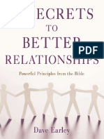 14 Secrets to Better Relationships by Dave Earley