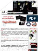 2016-07 Topographie Spéléológique TopoDroid 2016