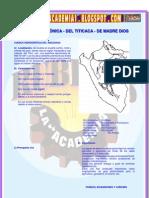 CUENCA AMAZÓNICA - DEL TITICACA - DE MADRE DIOS