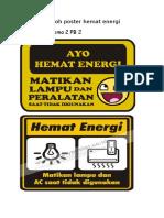 Contoh Poster Hemat Energidocx