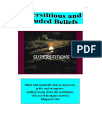 Superstitious and Deluded Beliefs