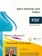 Soft Power and India