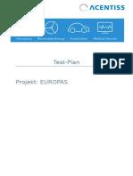 Test Plan SBEdit