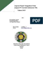Analisis Mengenai Pajak Tangguhan Pada Laporan Keuangan PT Garuda Indonesia Tbk