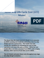 Presentation-Military Ship Life Cycle Cost (LCC) Model